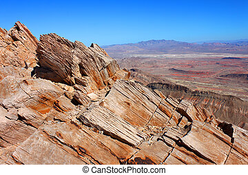 Frenchman Mountain View Nevada - Nevada landscape seen from...