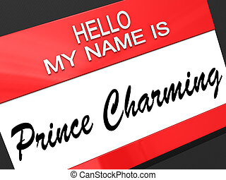 Prince Charming - Hello my name is Prince Charming on a...