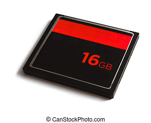 16gb memory card isolated on white - 16gb memory card...