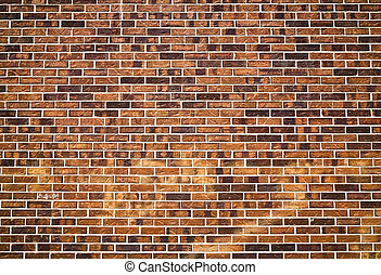 Brick wall - Brick wall detailed texture taken outdoor with...