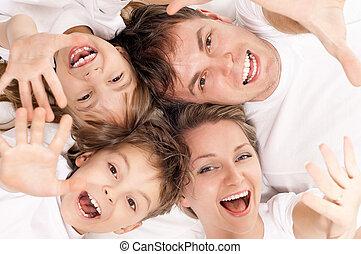 diversión, familia