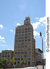 In the city - A buidling in Asheville, North Carolina