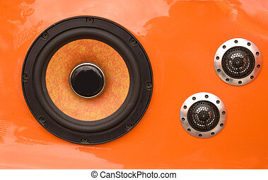 Car speakers - Car audio tuning - door speakers