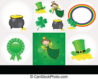 St Patrick day set