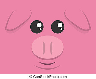 Large Pig Face