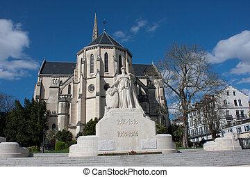 Church of St. Martin in Pau