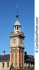 Customs House - Clock tower Newcastle Australia - The...