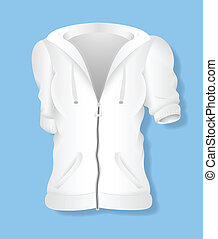 Female Jersey Costume Design Vector - White Female Jersey...