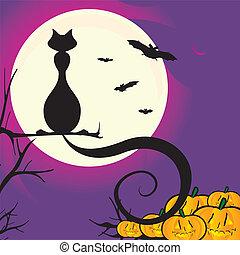 halloweeen scene
