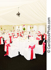 Wedding reception decorations - Wedding reception setting...