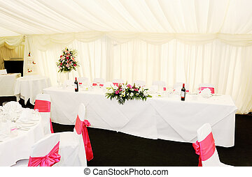 Wedding reception interior - Wedding reception decorations...