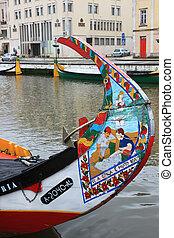 pesca, Barcos, Aveiro, canal, PORTUGAL