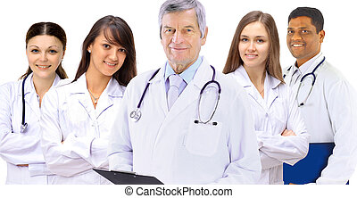 hospital colleagues