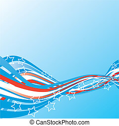 Abstract background - USA election patriotic background...