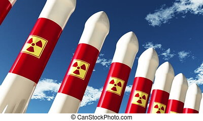 Nuclear Rockets 1 - Nuclear Rockets Ready to Launch 3D...