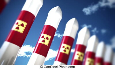 Nuclear Rockets 2 - Nuclear Rockets Ready to Launch 3D...