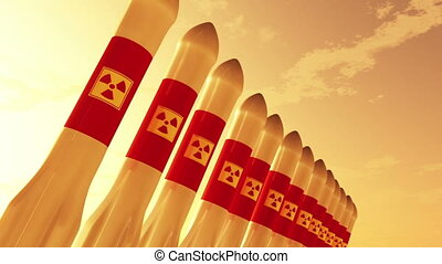 Nuclear Rockets 8 - Nuclear Rockets Ready to Launch 3D...