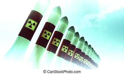 Nuclear Rockets 9 - Nuclear Rockets Ready to Launch 3D...