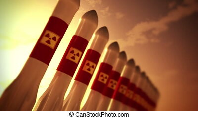 Nuclear Rockets 10 - Nuclear Rockets Ready to Launch 3D...