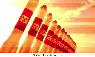 Nuclear Rockets 12 - Nuclear Rockets Ready to Launch 3D...