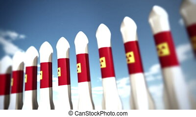 Nuclear Rockets 14 - Nuclear Rockets Ready to Launch 3D...