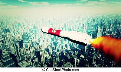 Nuclear Rocket Hits Metropolis 2 - Nuclear Rocket Hit...