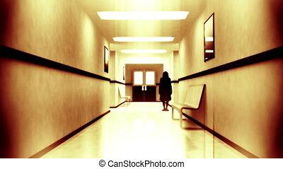 Scary Hospital Corridor 6 yurei - Scary Hospital Corridor...