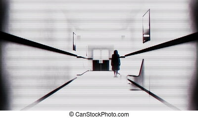 l: Scary Hospital Corridor 12 yurei - Scary Hospital...