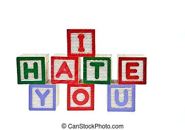 i, ódio, tu