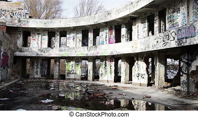 Scary Abandoned Building 8 pan - Scary Abandoned Building...