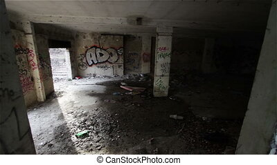 Scary Abandoned Building 19 pan