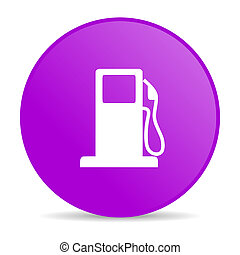 fuel violet circle web glossy icon - pink circle glossy web...