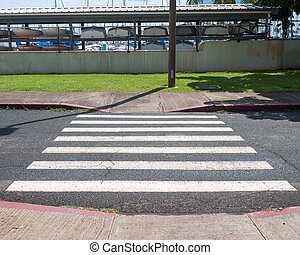 peão, Crosswalk