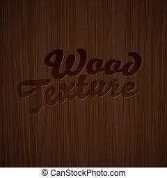 Dark wooden texture - Dark colored wooden texture, vector...