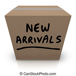 New Arrivals Cardboard Box Latest Products Merchandise - The...