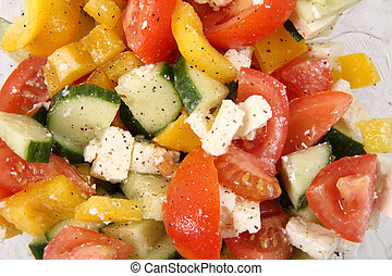 vegetable salad as very nice food background