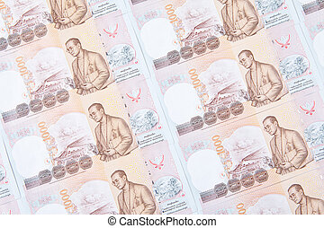 thai one thousand baht note