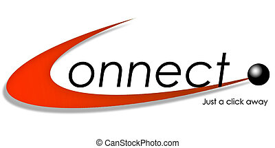 connect - illustration of connecting to worldwide