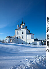 Trinity Cathedral at Gorokhovets in winter - Trinity...