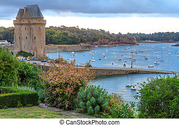 Tour Solidor near Saint Malo, Brittany, France - Tour...