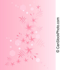 jasmine - an illustration of a jasmine floral background in...