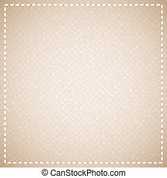 canvas texture - beige canvas texture with thread, vector...