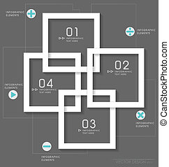 Modern design layout / modern design template, vector...