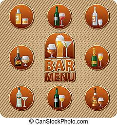 bar menu icon