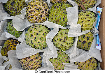 Annona Texture Types of fruit