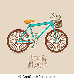 Bicycle Illustration - Illustration of Bicycle, Riding on...