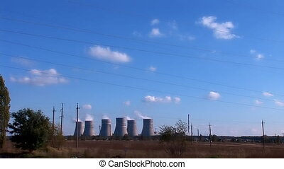 Nuclear Power Station b