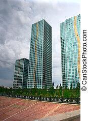 building skyscraper Astana Kazakhstan