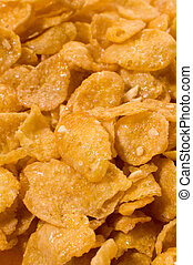 corn flakes detail photo,