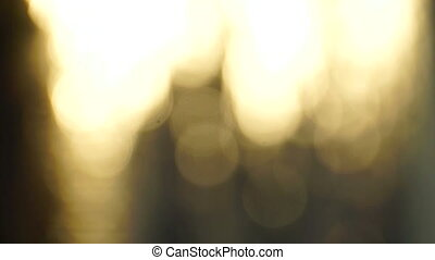Abstract Bokeh Downward Motion - Background bokeh special...